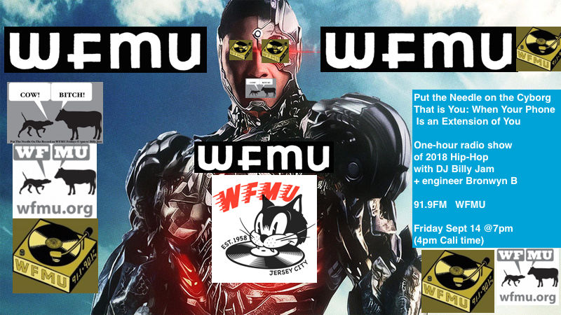 WFMU: Put The Needle On The Record with Billy Jam: Playlist